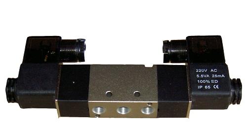 Пневмораспределитель электромагнитный серии 4V220